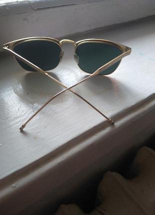 Очки зеркальные солнцезащитные
