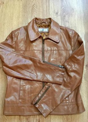 Кожаная куртка new look