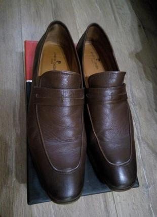 Туфли лоферы мужские