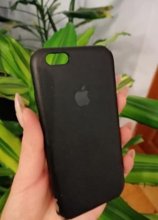 Класичний чорний силіконовий бампер айфон 6/6s черный силиконовый чехол iphone 6, 6s|обмен
