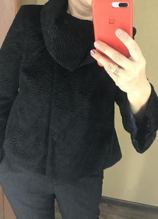 Пальто шубка под каракуль
