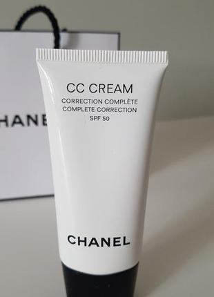 Cc крем для идеального тона кожи complete correction spf50