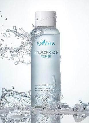 Тонер с гиалуроновой кислотой isntree hyaluronic acid toner 200 мл