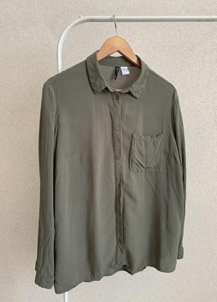 Легкая рубашка h&m