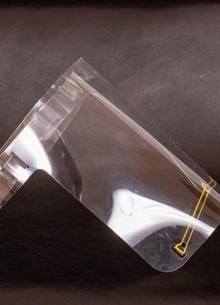 Защитный экран щиток на лицо изолирующая прозрачная маска для лица производитель украины9 фото