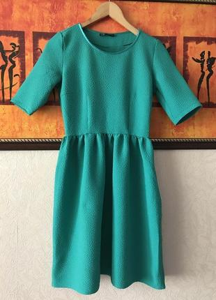 Нарядное платье фактурная ткань от oodji