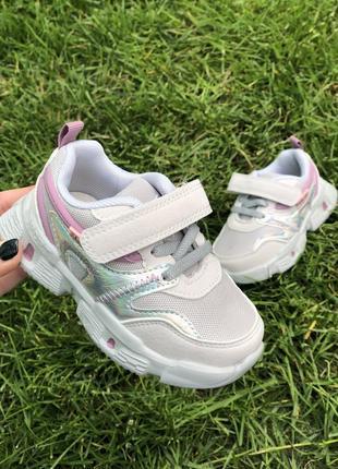 Летние легкие кроссовки для девочки