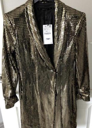 Платье пиджак zara2 фото