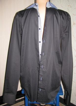 Рубашка мужская размер l италия marnelli