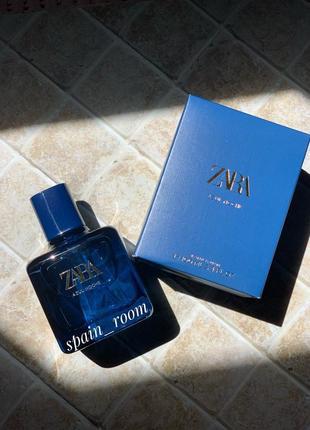 Духи zara midnight blue/ zara azul noche /парфюм /парфуми/туалетная вода/
