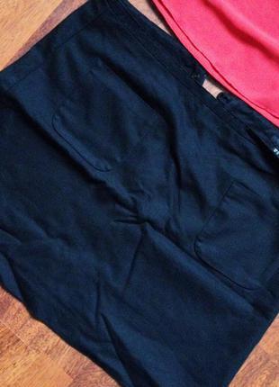 Класическая мини юбка от h&m