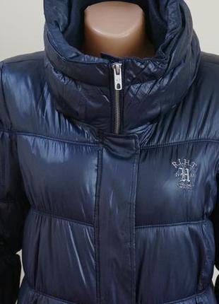 Пуховик куртка красивого синего цвета размер м (у меня большой выбор курток )
