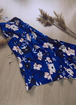 Шикарная асимметрическая юбка, размер с-м