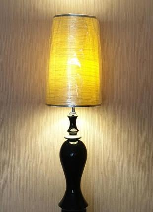 Светильник-торшер с серебряным абажуром arti-m,