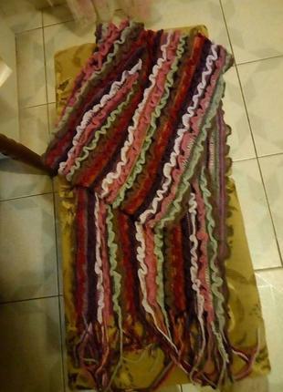 Красивый шарф, шарфик цветной
