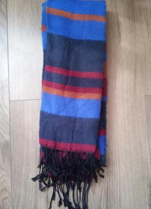 Мужской зимний шарф tom tailor