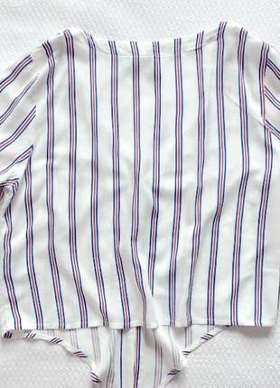 Летняя блузка с v-образным вырезом н&м2 фото