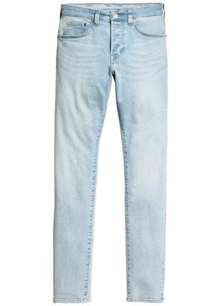 Новые мужские джинсы h&m skinny оригинал