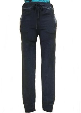 Женские велюровые брюки  kor@kor. код п36276