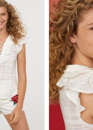 Очень милая и красивая блуза, топ фирмы h&m
