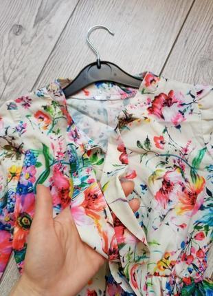 Летнее платье на девочку2 фото