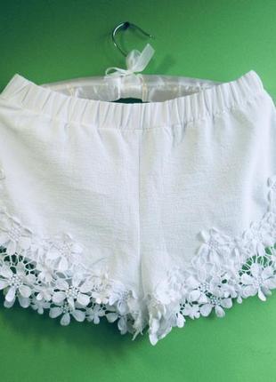Sale белые шорты zara