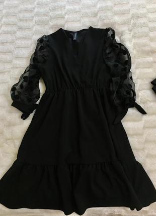Плаття коктельне. платье чёрное коктейльное