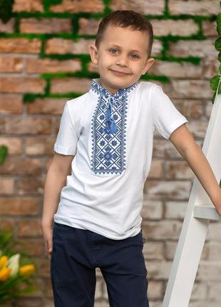 Вишиванка вышиванка футболка з вишивкою для хлопчика  12 років, ріст 152