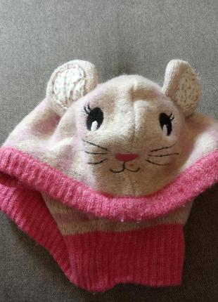 Шапка-скафандрик *мышка*🎀
