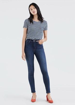 Levis 721 high rise skinny джинсы левайс