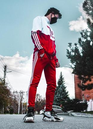 Хит ‼️мега крутой спортивный костюм adidas2 фото