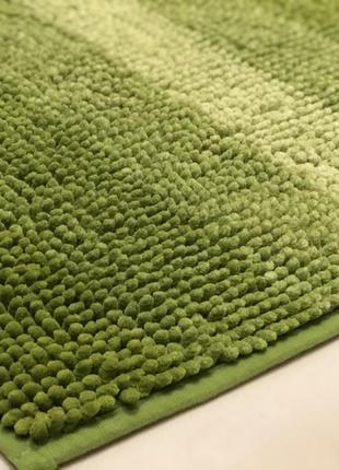 Набор ковриков для ванной комнаты 🛁 салатовый