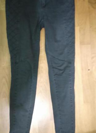 Черные джинсы river island