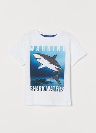 Красивая футболка с акулой