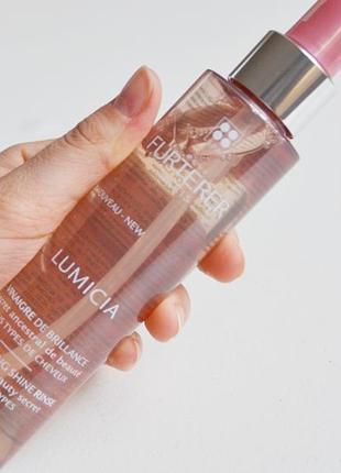 Ополаскиватель для волос для придания блеска  rene furterer lumicia illuminating shine