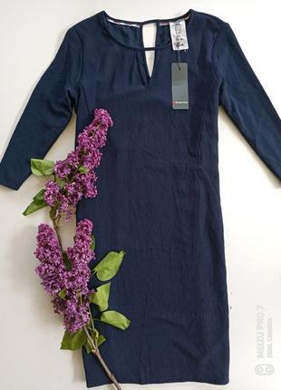 Красивое фирменное свободное платье миди от немецкого бренда street one, 36p