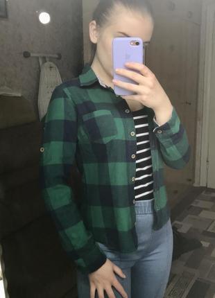 Зелёная рубашка