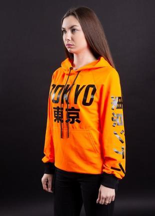Худи ira - tokyo orange оранжевое