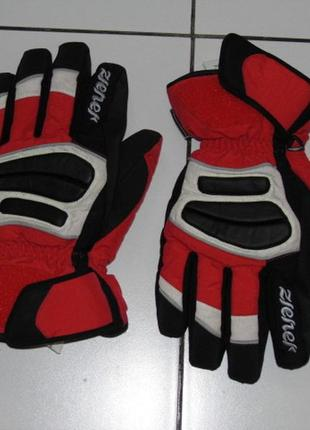 Зимние перчатки ziener горнолыжные 8.5 size - индонезия