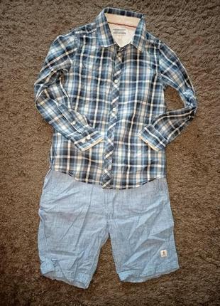 Рубашка и шорты для мальчика