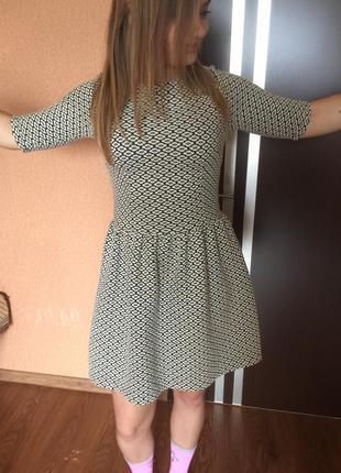Тёплое платье осень-зима