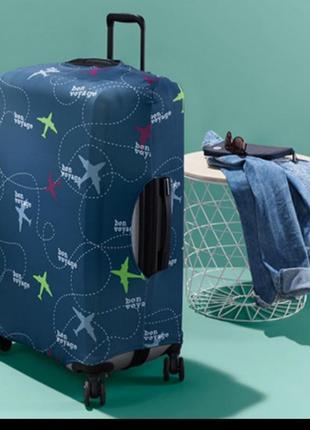 Защитный чехол для чемодана от царапин и загрязнений от tchibo (нюанс)