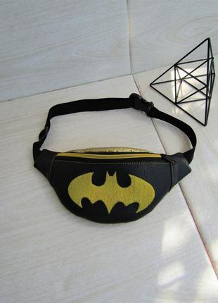 """Детская бананка для мальчика """"бэтмен"""" handmade"""