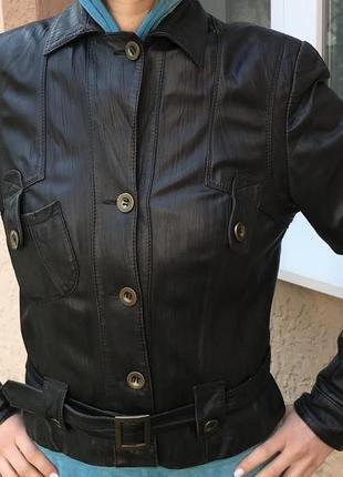 Кожаная куртка/натуральная косуха/ветровка/кожаный пиджак