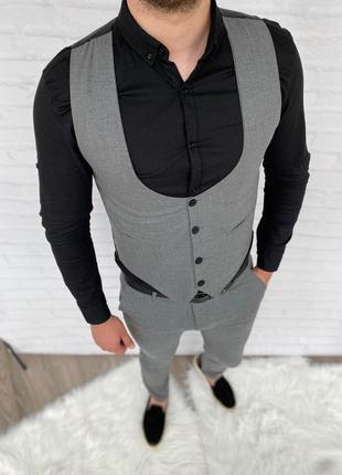 Комплект двійка ( штани + жилетка )
