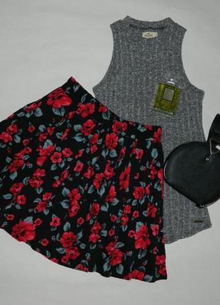Роскошная юбка в цветы от tally weijl