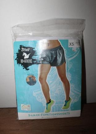 Шорты для бега спортивные crivit размер xs