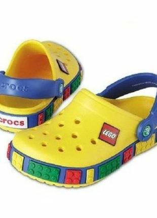 Crocs crocband lego kids тапки вьетнамки шлёпанцы + подарок