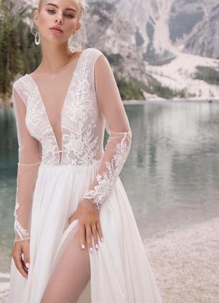 Свадебное платье la novia модель armonia