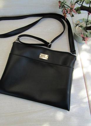 Черная сумочка handmade